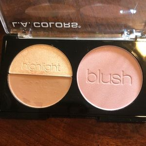 L.A. COLORS Makeup - L.A. Colours 3D Blush contour